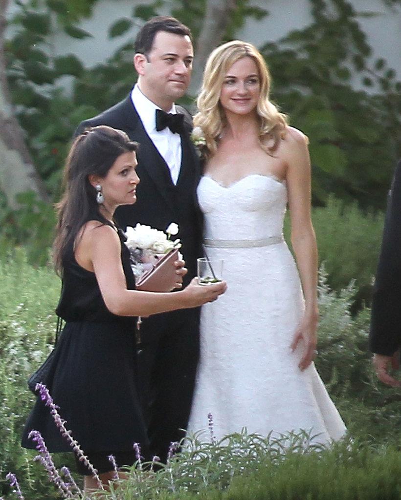 Jimmy Kimmel married longtime girlfriend Molly McNearney in a star-studded wedding in Ojai, CA, in July 2013.