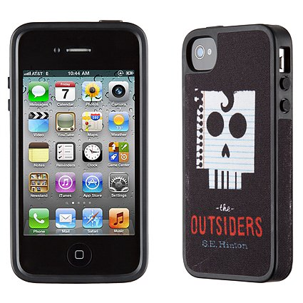 Whether your allegiance was to the Greasers or the Socs, The Outsiders iPhone 4S case ($25) will take you back to your middle school days when you couldn't put down the classic young-adult novel.