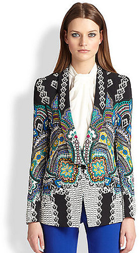 Etro Cady Silk Mosaic Jacket