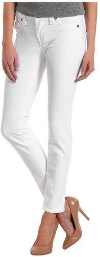 True Religion - Serena Higher Rise Legging in Optic White (Optic White) - Apparel