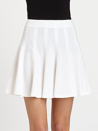 Theory Eliza Pleated Skirt