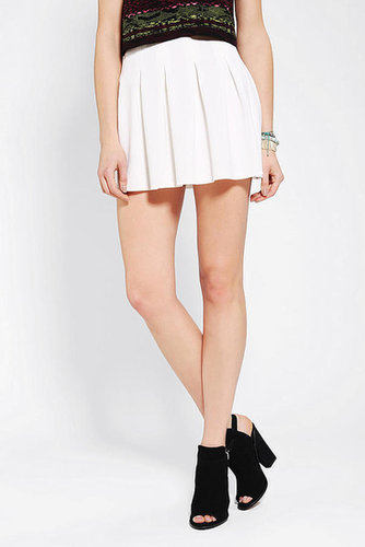 Silence + Noise Pleated Scuba Circle Skirt