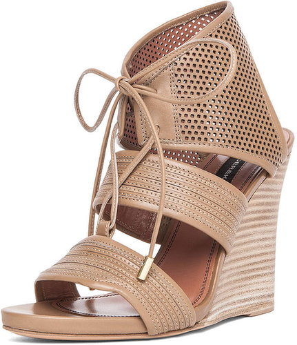 Derek Lam Brooklyn Sandal Wedge in Sahara