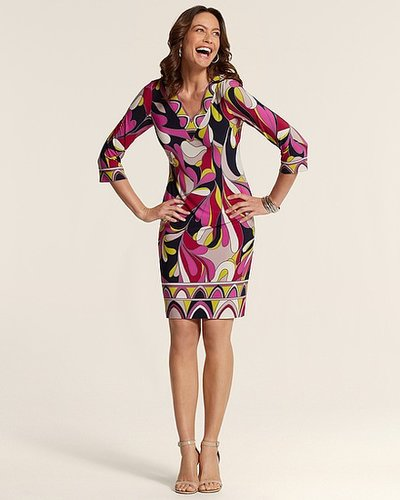 Multi Print Brody Dress