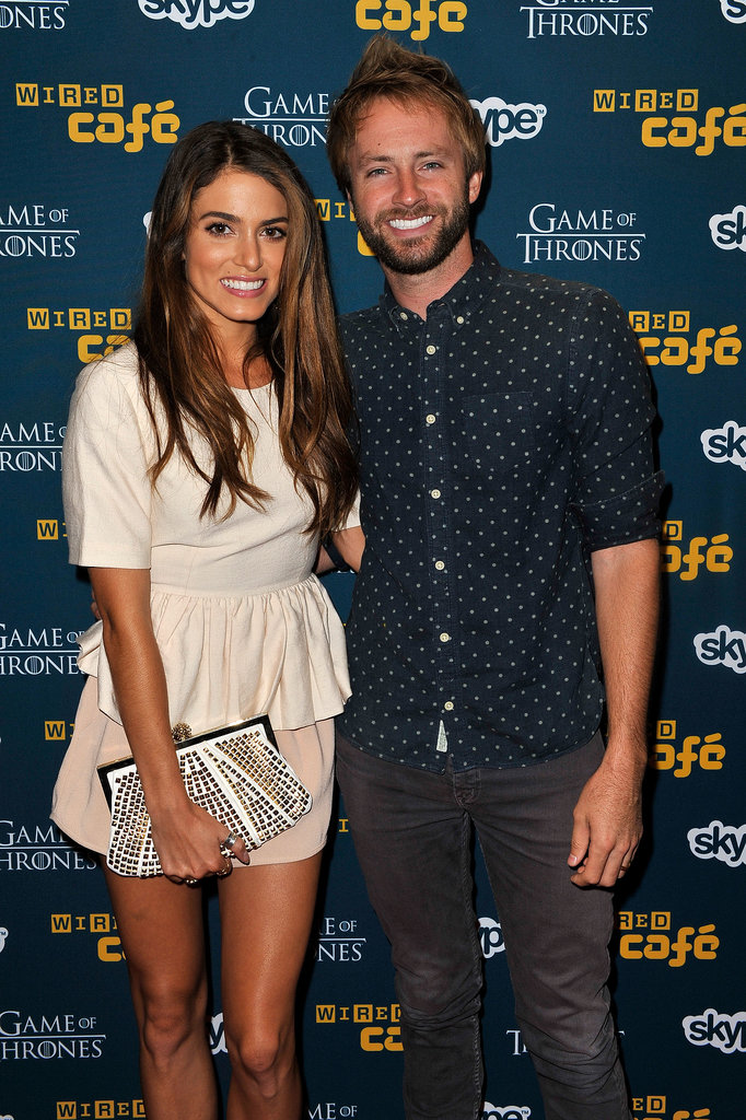 Nikki Reed attended a Comic-Con event with her husband Paul McDonald in 2012.