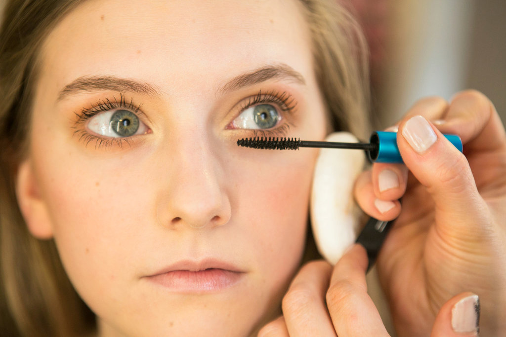 """Then she used Extended Play Gigablack Mascara ($17) for a rich black tone that lasts all day. """"It really holds up to the humidity, sweat, and tears,"""" she says."""