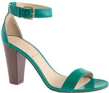 Lanie stacked-heel sandals