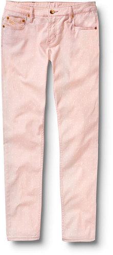 Tama Crop Opal Polka Dot Jeans