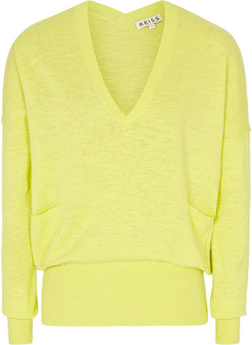 Baily V JUMPER WITH POCKET