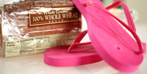 Fix a Broken Flip-Flop . . . With a Loaf of Bread?