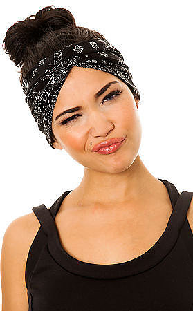 See You Monday  The Black Bandana Turban (Exclusive)