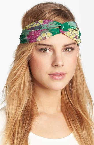 Tasha 'Floral Interlock' Turban Head Wrap