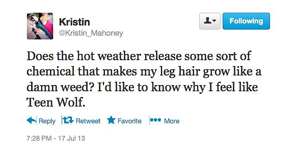 On Hairy Heat Waves