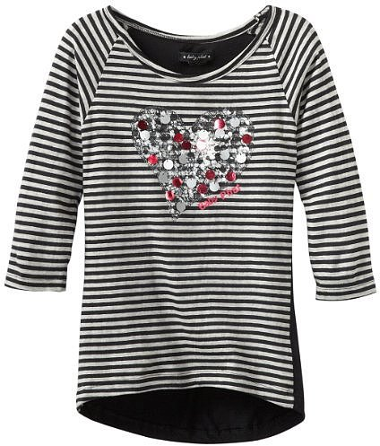 Baby Phat - Kids Girls 7-16 Striped Top