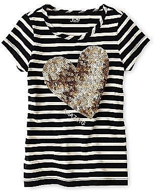Joe FreshTM Sparkle Tee - Girls 4-14