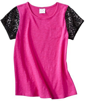 DSigned Girls' Short-Sleeve Pocket Tee