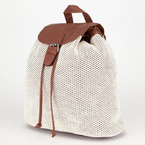 Crochet Overlay Backpack
