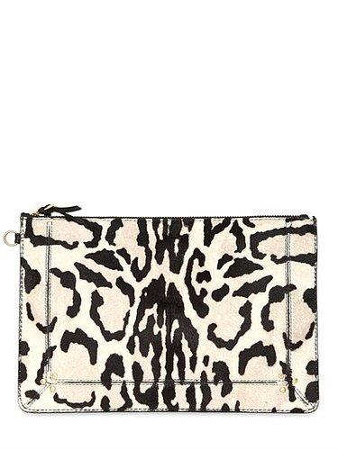 Popoche Zebra Print Pony Pouch
