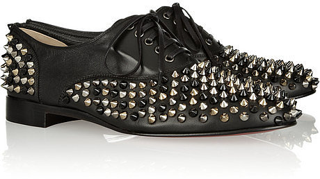 Christian Louboutin Freddy spiked leather brogues