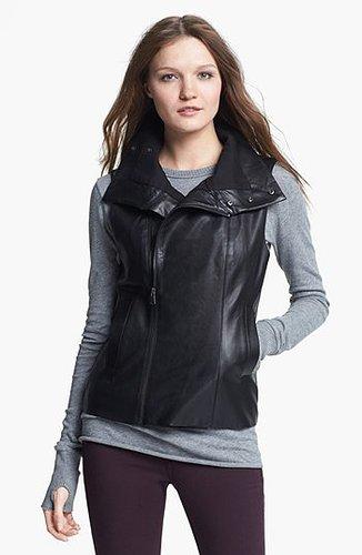 Echo Faux Leather Front Zip Vest   Nordstrom