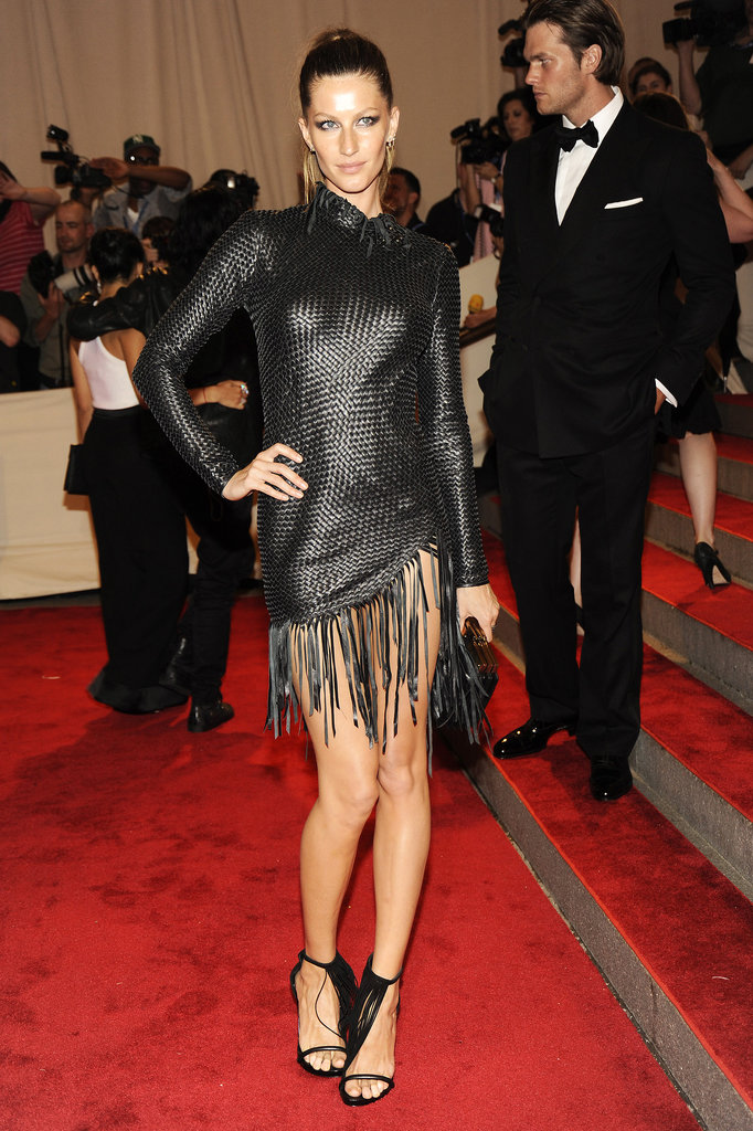 Gisele Bündchen in Alexander Wang at the 2010 Met Gala