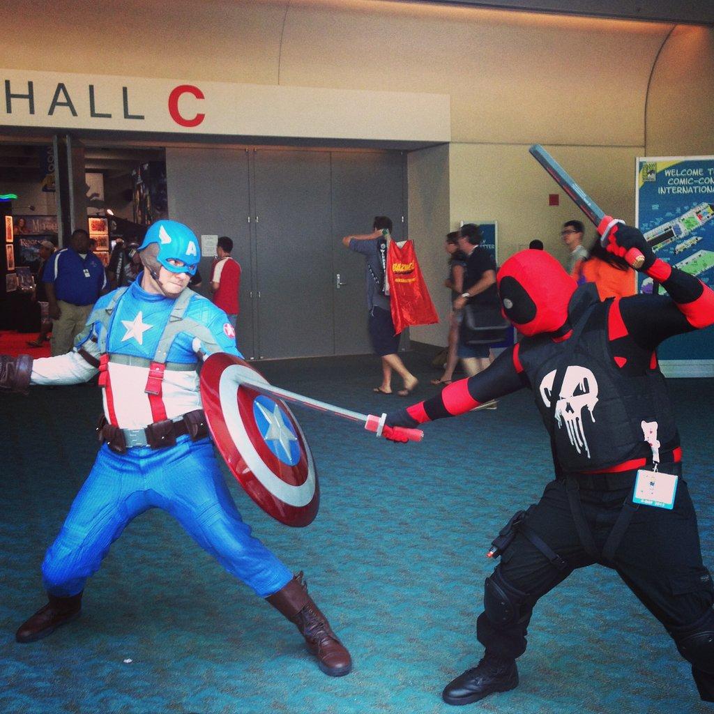 Captain America vs. The Punisher