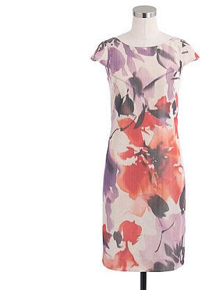 Collection Greta dress in floral taffeta