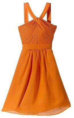 TEVOLIOTM  Women's Halter Neck Chiffon Dress - Fashion Colors