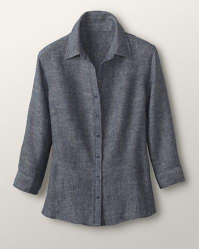 Classic cross-dye shirt