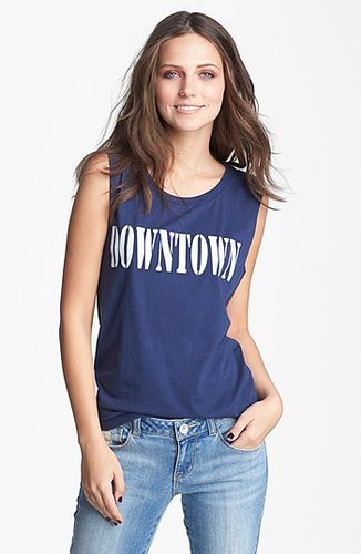 Project Social T 'Downtown' Tank (Juniors) Navy Seal X-Small