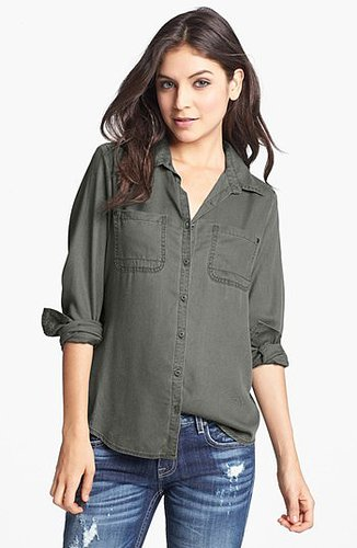 Rubbish Workwear Shirt (Juniors) (Online Only) Grey- Urban Medium