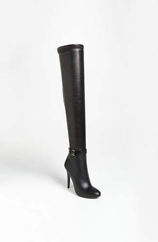 Jimmy Choo 'Tamba' Over the Knee Boot Womens Black Size 4.5US / 35EU 4.5US / 35EU