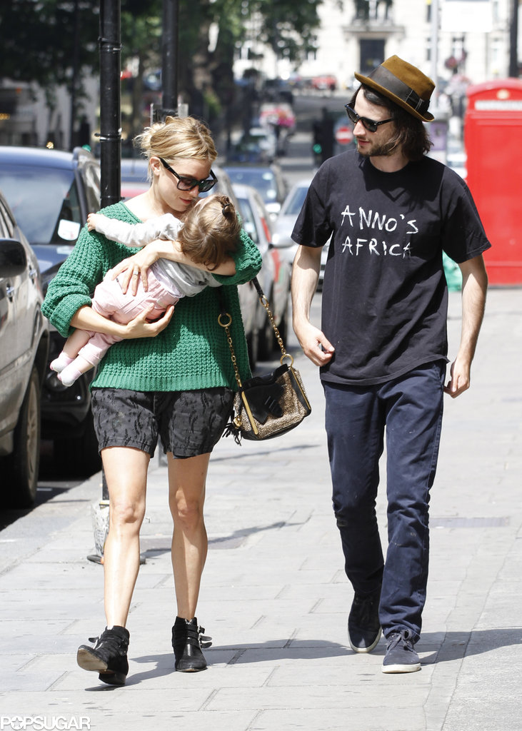 Sienna Walks Off Marlowe's Tears in London