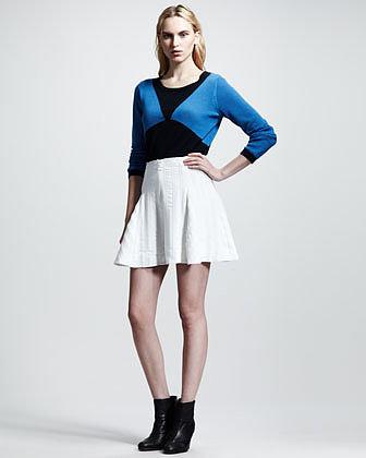 Rag & Bone Nikki Flare Skirt