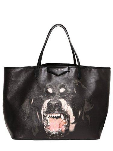 Large Antigona Rottweiler Pvc Tote