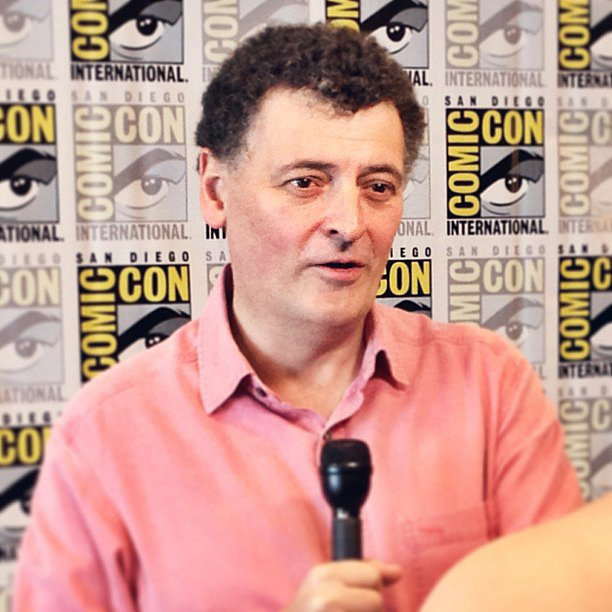 The Moff! He who holds the key to all the mysteries of Doctor Who and Sherlock. Hopefully he'll unlock some today!