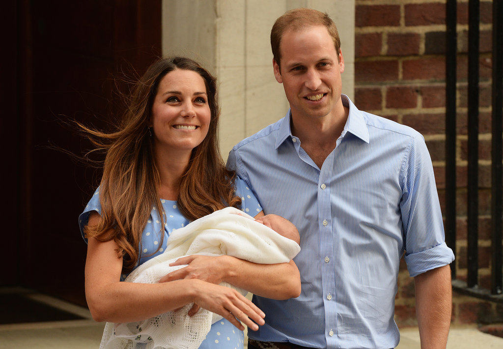 Kate Middleton was glowing as she left the hospital with Prince William and the newborn prince.