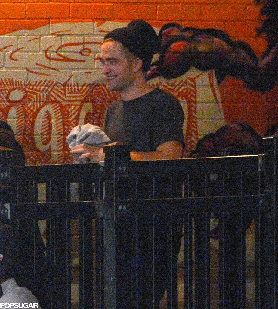 Robert Pattinson had a night out in Toronto.