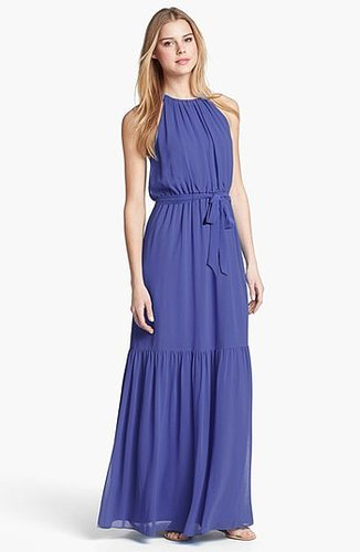 Jessica Simpson Laser Cutout Maxi Dress