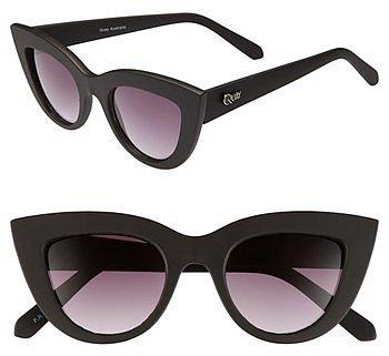 Quay 'Kitti' Sunglasses Black One Size