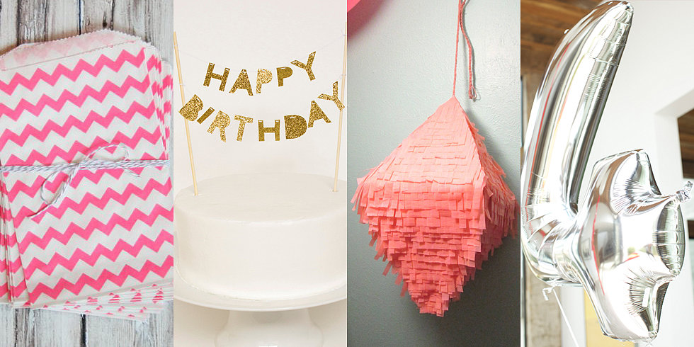 How to Plan a Stylish No-Sweat Bash For Your Little One's Birthday