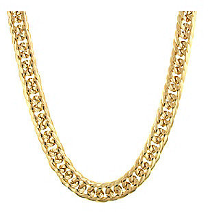 Signature 1928 Cleopatra Double Curb Chain Necklace