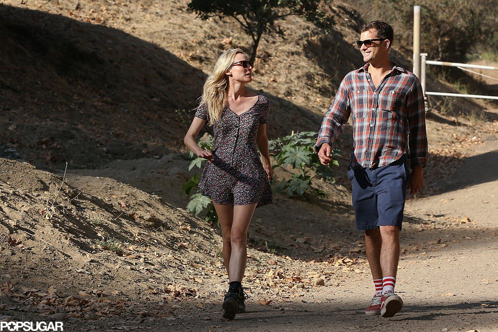 Joshua Jackson and Diane Kruger shared a laugh during a couple's hike in LA.