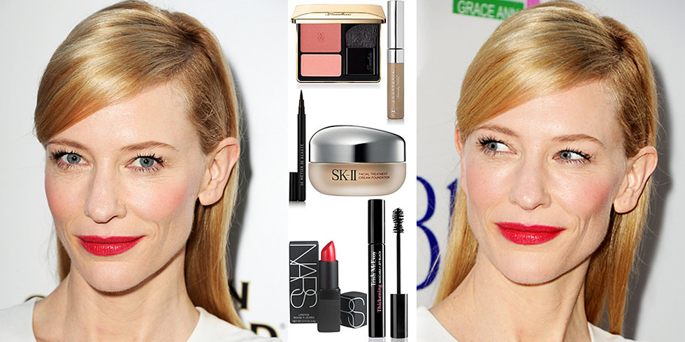 Love It or Leave It:  Cate Blanchett's Red Lips and Pink Cheeks