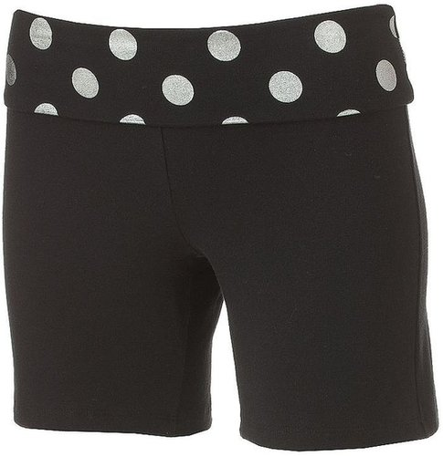 So® fold-over midi yoga lounge shorts - juniors'