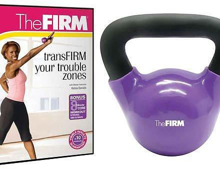 The FIRM®; 5lb Kettle Bell Kit