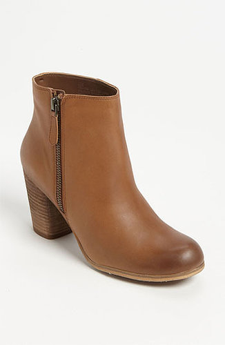 BP. 'Trolley' Ankle Boot Womens Cognac Leather Size 6 M 6 M