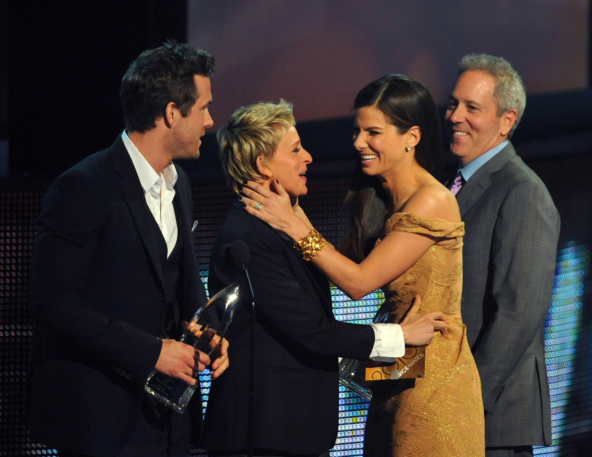Sandra Bullock ellen