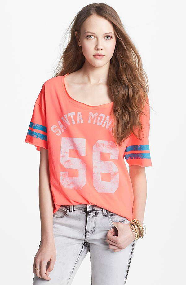 For our days off-duty, we'd add this totally rad Project Social T Santa Monica T-Shirt ($28) to our cutoffs.