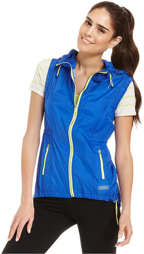 Calvin Klein Performance Vest, Hooded High-Low Vest